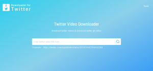 download twitter video