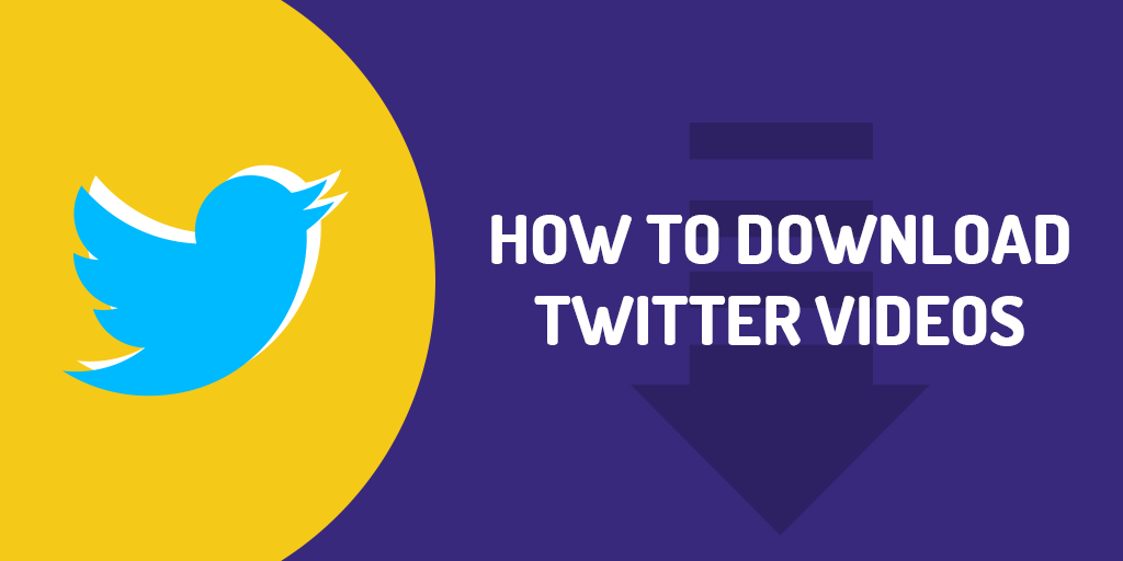 Download Twitter Videos on Desktop
